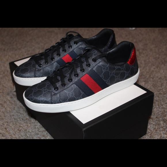 df13d91f5 Gucci Shoes   Ace Gg Supreme Sneaker   Poshmark
